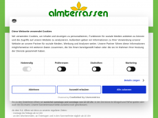Screenshot der Domain almterrassen.de