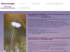 Screenshot der Domain almut-engel.de