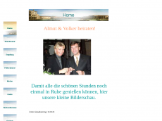 Screenshot der Domain almut-volker.de