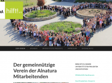 Screenshot der Domain alnatura-hilft.de
