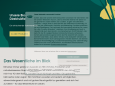 Screenshot der Domain alnavit.com