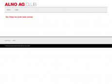 Screenshot der Domain alnoagclub.com
