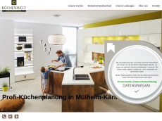 Screenshot der Domain alnokuechenstudio.de
