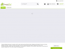Screenshot der Domain aloe-aloevera.de