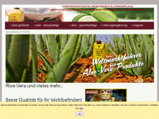 Screenshot der Domain aloe-online.de