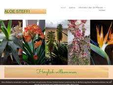 Screenshot von aloe-steffi.de