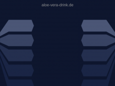Screenshot der Domain aloe-vera-drink.de