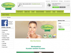 Screenshot der Domain aloe-vera-gold.de