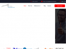 Screenshot der Domain alphatelemarketing.de