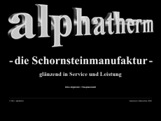 Screenshot der Domain alphathermvs.de
