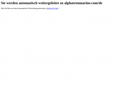 Screenshot der Domain alphatron.de