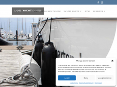 Screenshot der Domain alphayachtcharter.de