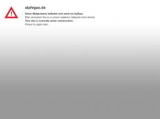 Screenshot von alphigas.de