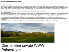 Screenshot der Domain alphion.de