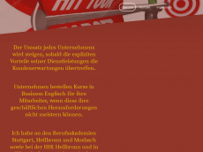 Screenshot der Domain alphohziel.de