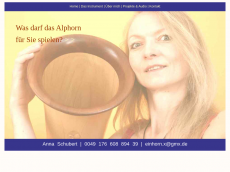 Screenshot der Domain alphorn-berlin.de