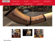 Screenshot der Domain alphorngruppe-rotbachtal.de