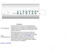 Screenshot der Domain alphotec.de