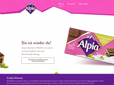 Screenshot der Domain alpia.com