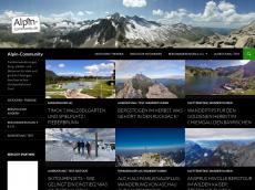 Screenshot von alpin-community.de