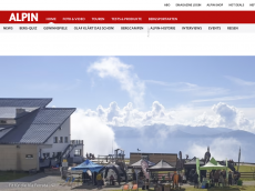 Screenshot der Domain alpin.com