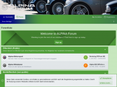 Screenshot der Domain alpina-forum.de