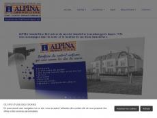 Screenshot der Domain alpina-immobilien.de