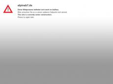 Screenshot der Domain alpinab7.de