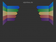 Screenshot der Domain alpinbau.de