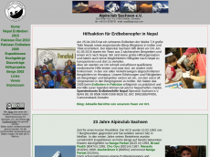 Screenshot der Domain alpinclub.com