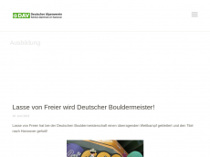 Screenshot der Domain alpinclub.de