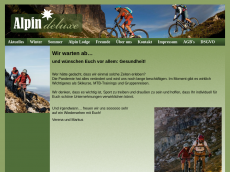 Screenshot der Domain alpindeluxe.de