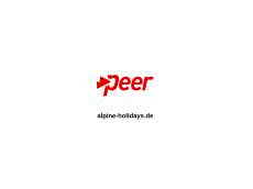 Screenshot der Domain alpine-holidays.de