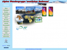 Screenshot der Domain alpine-wandergruppe.de