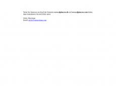 Screenshot der Domain alpinecow.de
