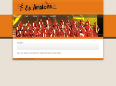 Screenshot der Domain amatoene.de