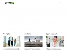 Screenshot der Domain amaxo.de