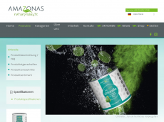 Screenshot der Domain amazonas-chlorella.de