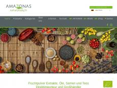 Screenshot der Domain amazonas-nahrungsergaenzung.de