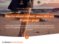 Screenshot der Domain amazonaspower.de