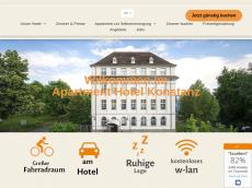 Screenshot der Domain appart-hotel-konstanz.de