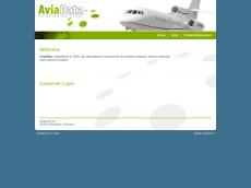 Screenshot der Domain aviadata.de