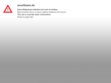 Screenshot der Domain axsoftware.de