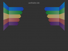 Screenshot der Domain axthaler.de