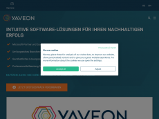 Screenshot der Domain axxess-consult.de