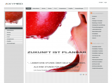Screenshot der Domain axymed.com