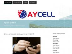 Screenshot der Domain ay-cell.de