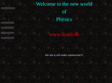Screenshot der Domain ayadi.de