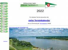 Screenshot der Domain ayc-jork.de