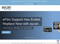 Screenshot der Domain aycan.com